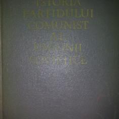 ISTORIA P.C.U.S. {PARTIDULUI COMUNIST AL UNIUNII SOVIETICE}