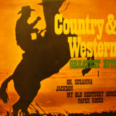 COUNTRY & WESTERN - GREATEST HITS I - Muzica Country electrecord