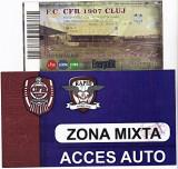 Bilet Fotbal meci CFR 1907 CLUJ - FC RAPID BUCURESTI + Acces Auto Zona mixta la meci