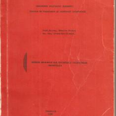 (C3310) ASPECTE ECONOMICE ALE PROIECTARII OBIECTIVELOR INDUSTRIALE DE NATALIA STOICA SI ALEXANDRU CIOBANU,, BUC., 1976, INSTITUTUL POLITEHNIC BUC. - Carti Metalurgie