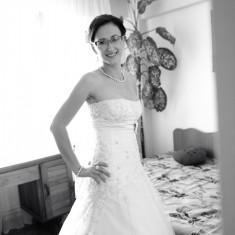 Vand rochie de mireasa Calin Events model Cezara