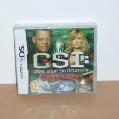 Vand joc Nintendo DS / 3DS - CSI : Unsolved!, nou, sigilat - Jocuri Nintendo 3DS, Actiune, 12+