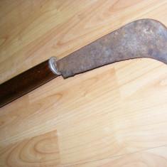 SABIE SCURTA  tip MACETA ,PIESA VECHE ,DE COLECTIE,arma de lupta antica ,PENTRU PANOPLIE