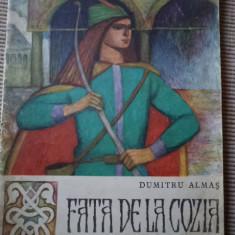 FATA DE LA COZIA DUMITRU ALMAS editura tineretului ilustrata carte poveste copii - Carte de povesti