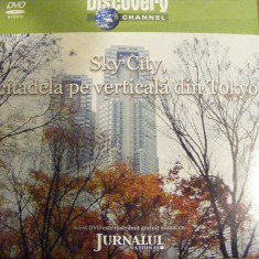 DVD DISCOVERY SKY CITY - Film documentare discovery channel, Romana