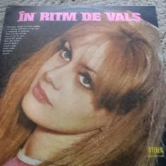 IN RITM DE VALS orchestra electrecord dir Alexandru Imre disc vinyl lp muzica, VINIL