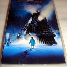 POLAR EXPRES / VHS - Tom Hanks / Desene Animate Regia: Robert Zemeckis - Film animatie, Romana
