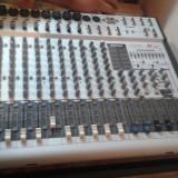 Mixer Phonic K12 + boxe Mackie