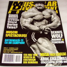MUSCULAR DEVELOPMENT - iulie / august 2011 - Revista barbati