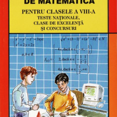 PROBLEME DE MATEMATICA PT CLASA VIII A de POPA DUMITRU ED. LUCMAN - Culegere Matematica