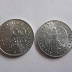 MONEDA 200 REICH MARK 1923 A