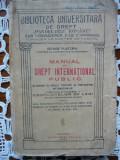 George Plastara - Manual de Drept International Public - 1927