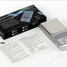 Cantar Bijuterii Digital precizie 0,01g - 200g cu Afisaj LCD + Baterii Incluse