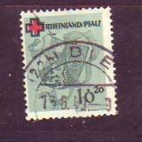1949 Rheinlandpfalz Mi. 42a stampilat