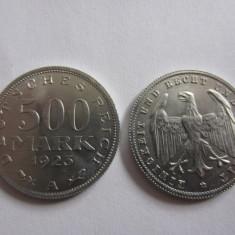 MONEDA 500 REICH MARK 1923 A