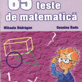 65 TESTE DE MATEMATICA PT CLASA A IV A de MIHAELA BADRAGAN ED. ERC PRESS - Culegere Matematica