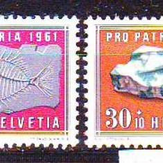 1958-Elvetia Mi.658-661, conditie** - Timbre straine