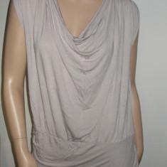 Rochie mini / Maieu tricou gri deschis LA REDOUTE CREATION marimea EUR 42 - 44 L XL - Rochie de zi La Redoute, Fara maneca