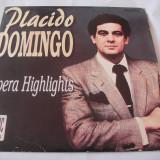 PLACIDO DOMINGO  OPERA HIGHLIGHTS ,VINIL .