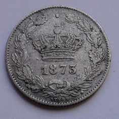 V- 50 bani 1873 superb, de colectie !!! - Moneda Romania