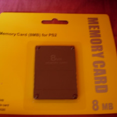 Memory card ps2 8mb modat card de memorie modat pt ps2/modare ps2