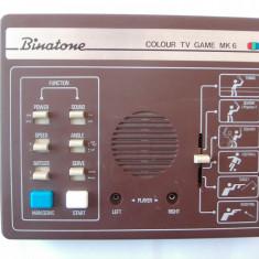 JOC BINATONE COLOUR TV  GAME MK6 ,VINTAGE ,ANII 80 !