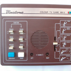 JOC BINATONE COLOUR TV GAME MK6, VINTAGE, ANII 80 !