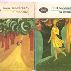 (C3424) LA MEDELENI DE IONEL TEODOREANU, EDITURA PENTRU LITERATURA, 1967, EDITIE INGRIJITA SI PREFATATA DE NICOLAE CIOBANU - Roman