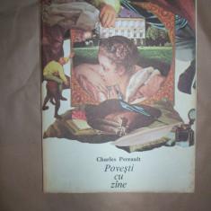 Povesti cu zane / ilustratii - Val Munteanu )- Charles Perault - Carte educativa