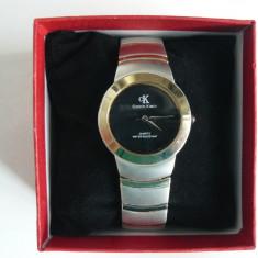 "Ceas Dama ""CALVIN KLEIN"" CK-BMS 100-1020, mecanism Quartz si cutie ceas, Elegant, Inox, Calvin Klein"