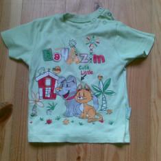 Tricou copii 9-12 luni in stare excelenta!, Culoare: Verde