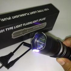 Electrosoc Metalic Police in Forma de Lanterna, Cu lanterna