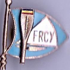 Insigna Sportiva FRCY Federatia Romana de Canotaj si Yachting