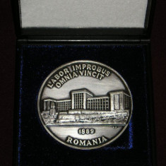 MMD1 - TEMATICA MILITARA - ACADEMIA MILITARA - 1989 - IN CUTIE ORIGINALA - Medalii Romania