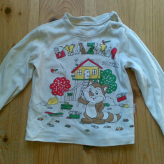 Bluza copii 9-12 luni in stare impecabila!, Culoare: Verde