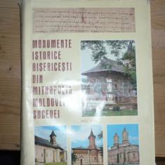 Monumente Istorice Bisericesti din Mitropolia Moldovei si Sucevei - Carti de cult