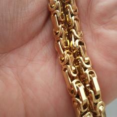 Lant Inox Placat LIVRARE GRATUITA - Lantisor placate cu aur