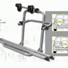 Suport 3 Biciclete cu montaj pe Roata de Rezerva pentru SUV 4x4 - Suport Bicicleta