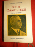 Lucian Predescu - Duiliu Zamfirescu -Viata si Opera -Prima Ed. 1937