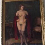 Tablou nud SZASZ ISTVAN reducere - Pictor roman, Ulei, Impresionism