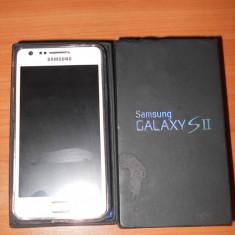 Vand samsung galaxy s2 alb - Telefon mobil Samsung Galaxy S2, 16GB, Neblocat