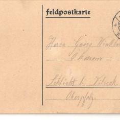 CPI (B2357) GERMANIA. CARTE POSTALA, CIRCULATA, 29.7.15, FELDPOSTKARTE, LICHTENFELS, Europa, Printata
