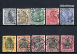 Germania 1902 - 19013 - Reich - serie Stampilata