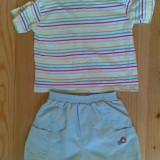 Tricou si pantaloni scurti copii 6-9 luni! Pretul este pe set!