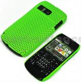 Cumpara ieftin Husa mesh verde Nokia E6 + folie protectie ecran + expediere gratuita, Plastic