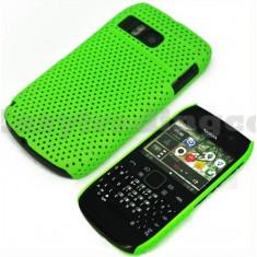 Husa mesh verde Nokia E6 + folie protectie ecran + expediere gratuita