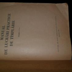 Manual de lucrari practice de tamplarie V.Constantinescu