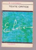 E. Lovinescu - Texte critice
