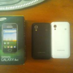 Vand Samsung galaxy ace s5830 IMPECABIL ! - Telefon mobil Samsung Galaxy Ace, Negru, Neblocat