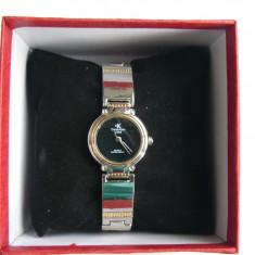 "Ceas Dama ""CALVIN KLEIN"" CK-BMS 101-1033, mecanism Quartz si cutie ceas, Elegant, Inox, Calvin Klein"